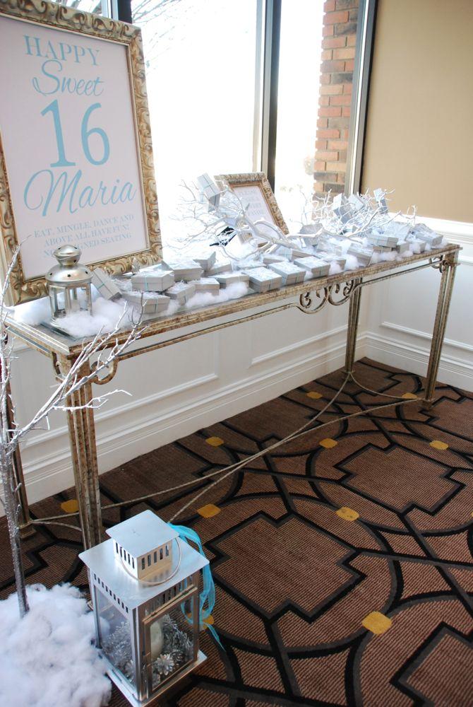 Sweet 16 Decoration Ideas